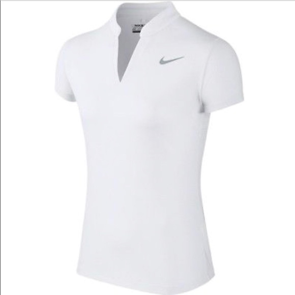 5b4e08d6fc163 Women's Nike Aeroreact Golf Polo. M_5add255b3800c5c68ae74cf4